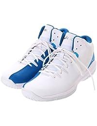 アシックス(asics) メンズ レディース バスケットボール シューズ GELLEGENDLYTE (TBF323 0149) ホワイトXブルー 27.5