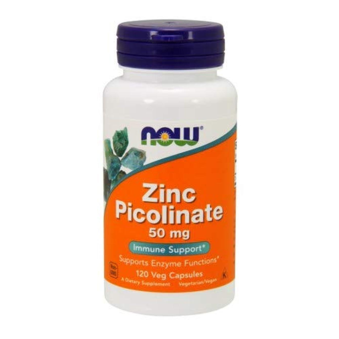 施し昼間始めるNOW Foods - 亜鉛Picolinate 50 mg。120カプセル【海外直送品】