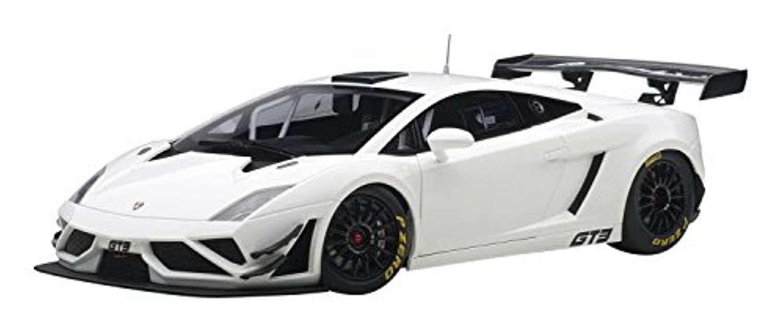 AUTOart 1/18 ランボルギーニ ガヤルド GT3 FL2 2013 ホワイト 完成品