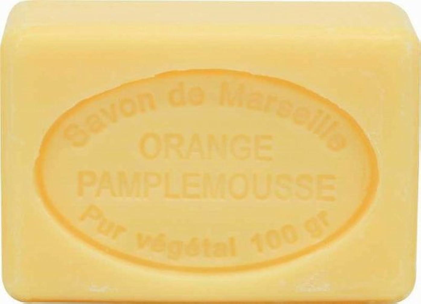 アイザック夜間胸ル?シャトゥラール ソープ 100g オレンジグレープフルーツ SAVON 100