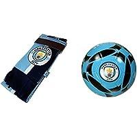 マンチェスター?シティFC Official Licensedサッカーサイズ5ボール&スカーフコンボ08 – 4