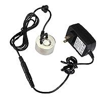 Dovewill ファウンテン LEDライト ウォーター ミストメーカー アトマイザー  US電源アダプター