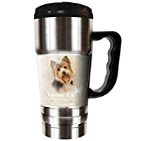 The CHAMP - 590ml Travel Tumbler - Yorkshire Terrier