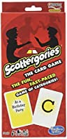 Scattergories The Card Game - Your Favorite Categories Game Meets Slap Jack - For At Home, On a Road Trip, or Vacation - 2 or More Players - Ages 8 and Up [並行輸入品]