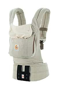 エルゴベビー(Ergobaby) 抱っこひも おんぶ 装着簡単 オリジナル/ナチュラルリネン【日本正規品保証付】 CREGBCALNNAT