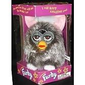 ファービー モデル 70-800 Owl グレー Shag / ロング ヘアー Electronic Furbie