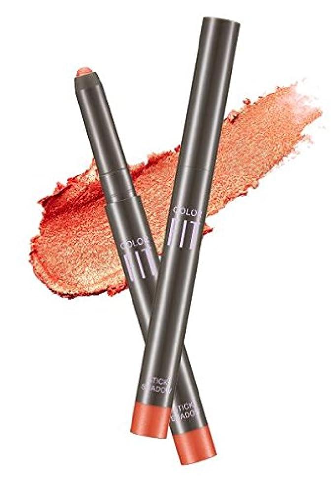 怒りコンピューターを使用するけがをする#Sparkling Orange ミシャ カラーピットスティックシャドウ MISSHA Color Fit Stick Shadow [並行輸入品]