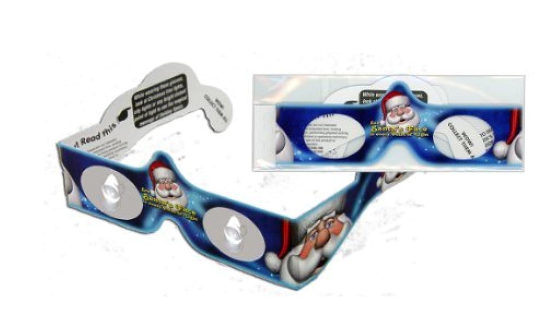 Santa Holiday Specs - See Santa's Face in Christmas Lights by Holiday Specs [並行輸入品]
