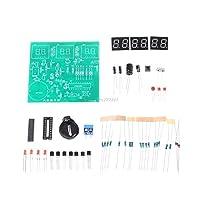 5V AT89C2051 6デジタルLED電子時計51 MCUコンポーネントDIY電子キット