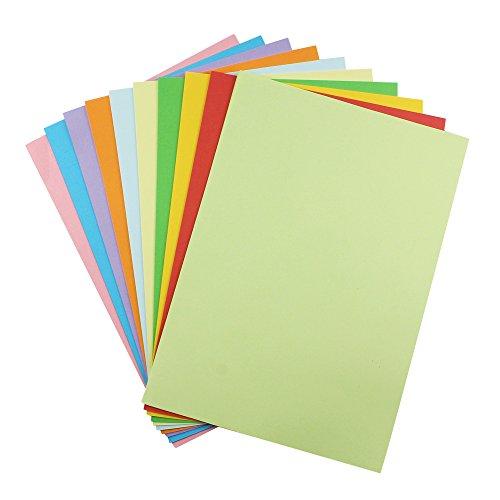 100枚 カラーペーパー 選べる10色 70g A4サイズ 多目的紙 コピー用紙 折り紙 レーザー クラフDIY オフィス...