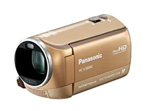 Panasonic デジタルハイビジョンビデオカメラ V300 内蔵メモリー32GB ゴールドベージュ HC-V300M-C