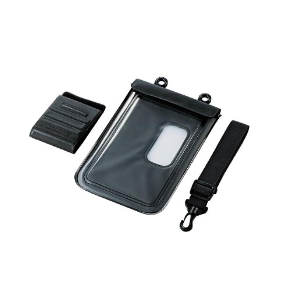 ピンチ不忠鳴らす【2012年モデル】エレコム 防水ケース タブレットPC 7インチ対応 TB-01WPSBK