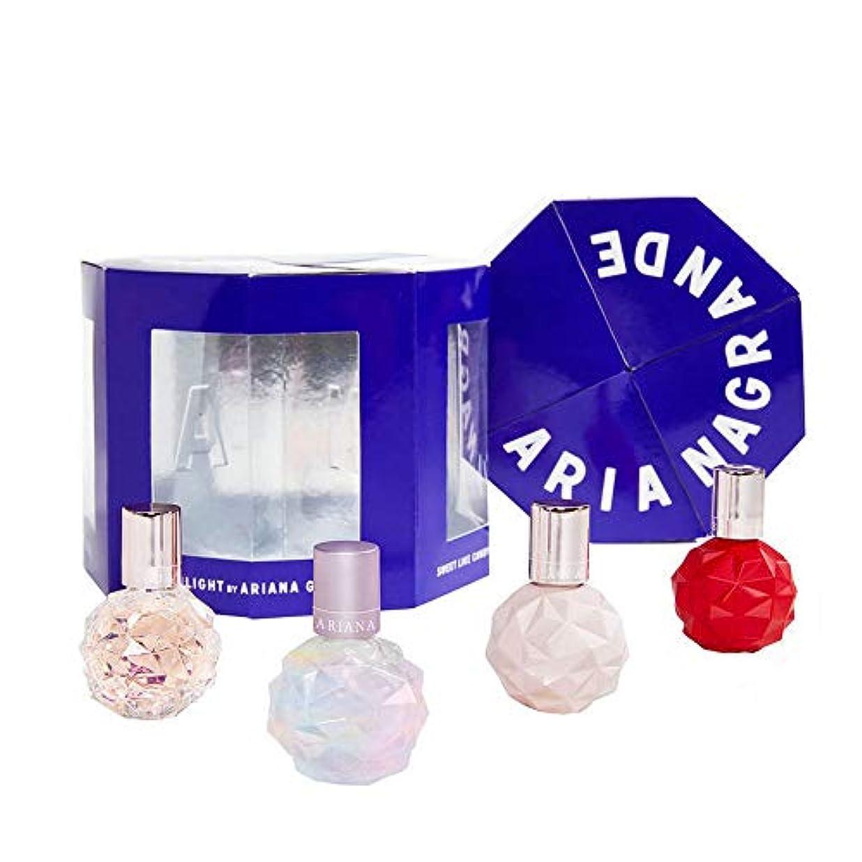 本質的ではないパッチアンペアアリアナグランデ ギフトセット ArianaGrande GiftSet (4.ミニパルファム4点/MiniPerfume) [並行輸入品]