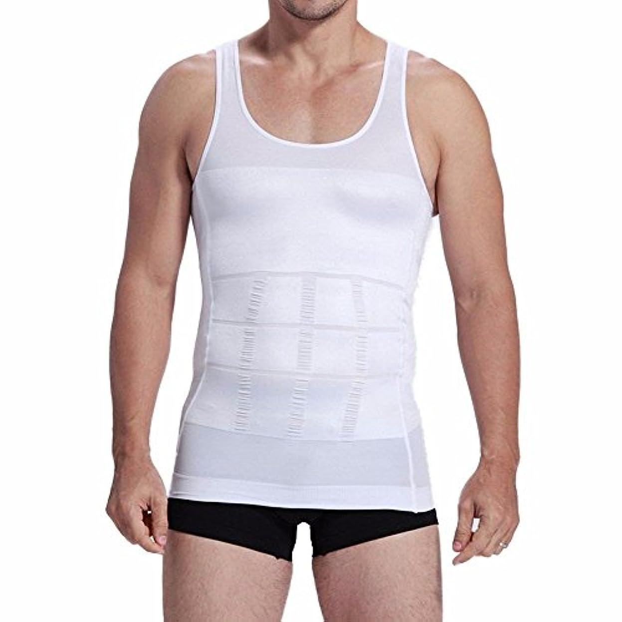 エレメンタルマニアック後ろ、背後、背面(部加圧シャツ メンズ タンクトップ スポーツ 筋トレ フィットネス 高弾力 吸汗速乾 優れた透気性 お腹ダイエット 姿勢矯正 補正下着 インナー