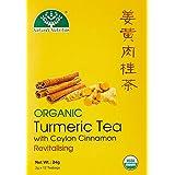 Nature's Nutrition Organic Turmeric And Cinnamon Tea 12s, 24g