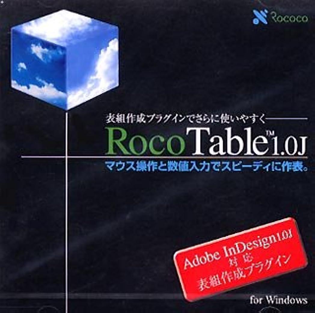 知る懺悔語RocoTable 1.0J