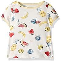 ROXY Girls Times Up Ringer Tee Short Sleeve T-Shirt