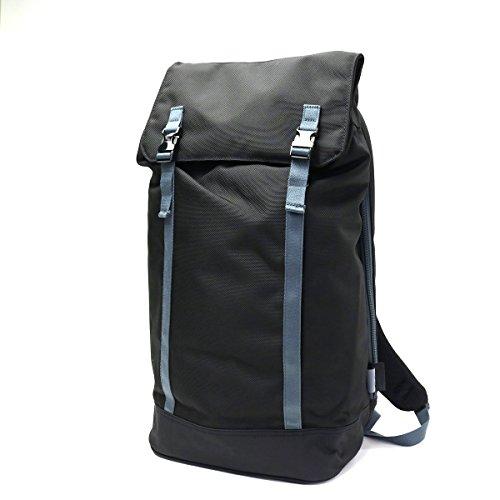 [シーシックス]C6 バックパック DURABLE NYLON SLIM BACKPACK ブラックxチャコール/C1661