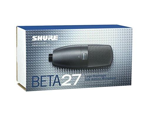 シュアー SHURE BETA27-X 楽器用スーパーカーディオイド マイクロホン ワイヤレスマイク