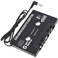 COCO 携帯 アクセサリー カー オーディオ カセット アダプター 磁気 変換 MP3 プレイヤー ブラック