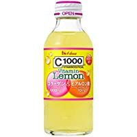 C1000 ビタミンレモン コラーゲン&ヒアルロン酸 140ml×30本 ハウスウェルネスフーズ