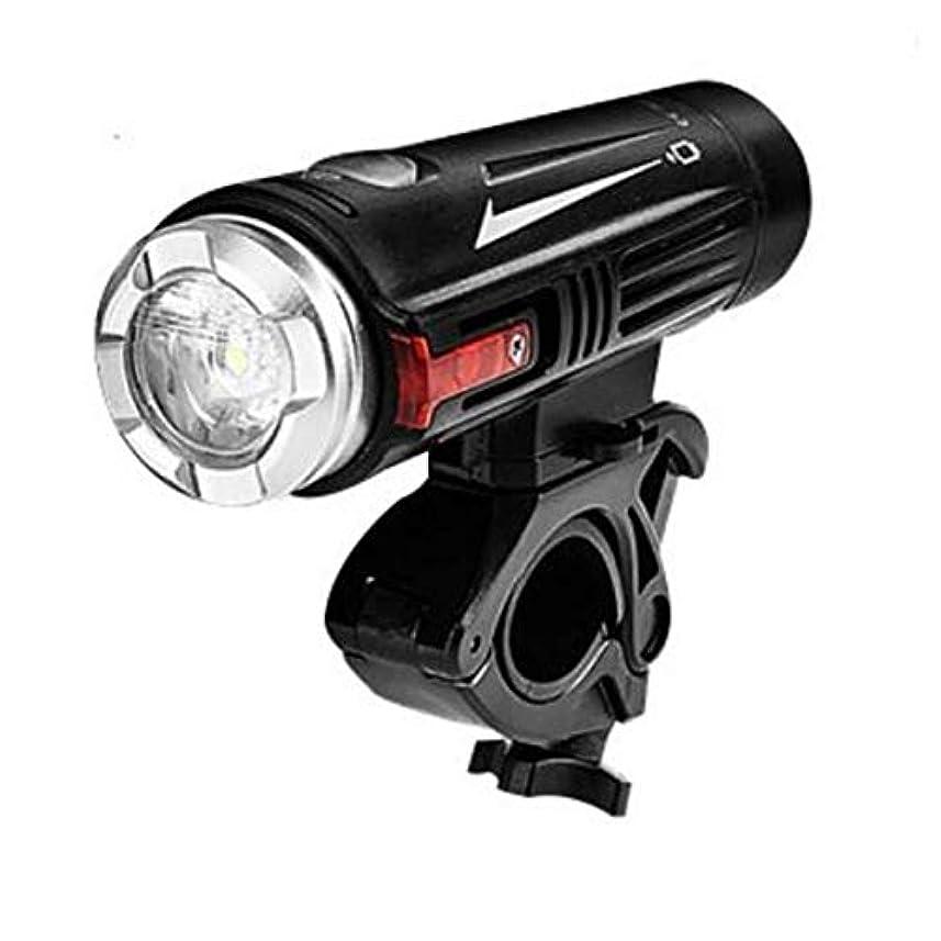 解任大声で征服者ナイトライディング機器、USB充電自転車ライトフロントライトLEDライディング照明防水マウンテンサイクルライトスーパーブライト