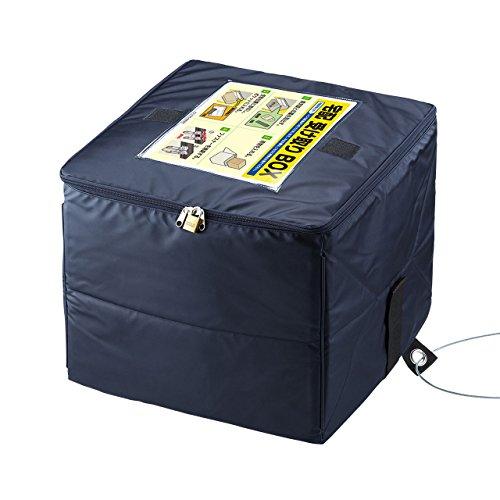 サンワサプライ 宅配ボックス 折りたたみ式 60Lサイズ(ネイビー) DB-BOX2