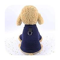 新しい秋冬犬服パーカープリント五Pen星パターン犬子犬服用小型犬コートジャケットペット服衣装-16-XL