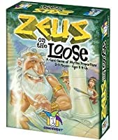 Zeus on the Loose with FREE Deck of Playing Cards