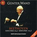 ベートーヴェン : 交響曲第1番&第2番