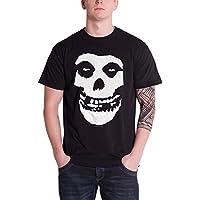 Misfits ミスフィッツ Classic Fiend Skull クラシック・デビル・スカル 公式 メンズ ブラック 黒 Tシャツ