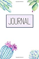 Journal: Wide Ruled Celestial Journal, Daily Notebook, Diary | 100 Lined Pages | 6x9 Inches | Succulents Cacti