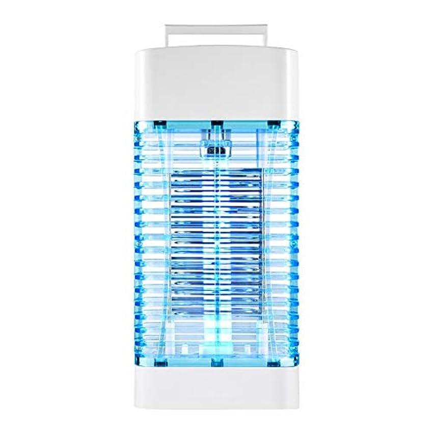 無法者投げる反逆ZEMIN 蚊ランプ電撃殺虫灯 誘虫灯 屋内 フライトラップ 商業の 防虫剤 ブービートラップ 360°トラップ 蚊のいない生活を楽しむ (色 : 白, サイズ さいず : 15.6x8.2x34cm)