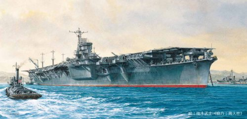 フジミ模型 1/700 特シリーズ No.70 日本海軍航空母艦 雲龍 終焉時 プラモデル 特70