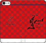 iPhone/Xperia/Galaxy/他機種選択可:サッカー/グラフィティ/へのへのもへじタッチ手帳ケース(デザイン:パリ/10番_03) 06 iPhone7Plus