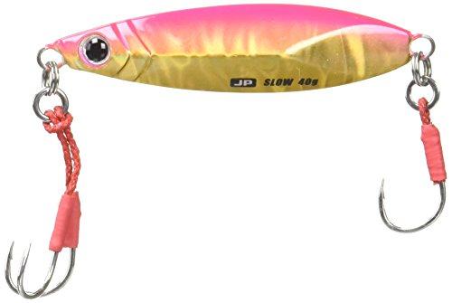 ジグパラ ショアスローモデル 40g ピンクゴールド