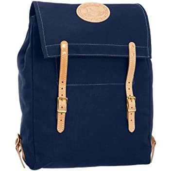 Canoe Back Pack 7278: Navy Canvas