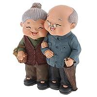 B Baosity カップル 老人 おばあちゃん 家 創造的 結婚式 部屋 装飾品 置物 贈り物 8種選べる  - 02野菜の販売