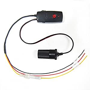 [Lukas]常時電源セーフ装置/常時録画/ドライブレコーダLK-290-12/24VT/スイッチで便利操作 (Aタイプ)