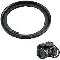 フィルタアダプタJJCレンズリングアダプタfor Canon PowerShot sx530HS sx520HS sx60HS sx50HS sx40HS sx30is sx20is sx10is sx1is Replaces Canon fa-dc67aアダプターリング