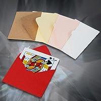 ●手品?マジック関連●カード用カラー封筒:5色10枚セット●P-60A