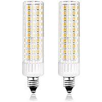 LED電球 E11口金 8.5W 調光対応 セラミックス 100Wハロゲンランプ相当 電球色 水銀灯 蛍光灯 代替 全方向広配光 トウモロコシライト 2個入り