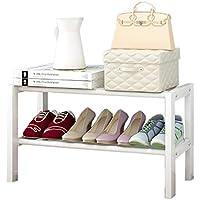 折りたたみ靴ラックソリッドウッドシンプルな靴キャビネットの家庭用経済的なラック多機能ダストシューラック (サイズ さいず : 21cm*34cm*82cm)