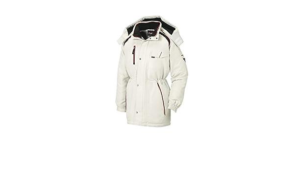 05c7e19ca35b0 Amazon.co.jp: [ジーベック] ラグラン防寒コート 22/シルバーグレー 191: 服&ファッション小物