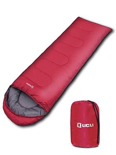 LICLI 寝袋 「丸洗いできる 封筒型 シュラフ 」「 コンパクト 簡単収納 」「 オールシーズン 軽量 防水 カビ対策 素材」「 キャンプ アウトドア 防災 用」