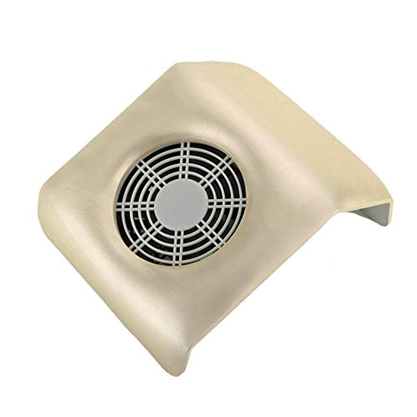 ネイル 集塵機 ネイルアート掃除機 ネイルマシン ネイルダスト ダストクリーナー ネイル機器 集塵バッグ付き 金色