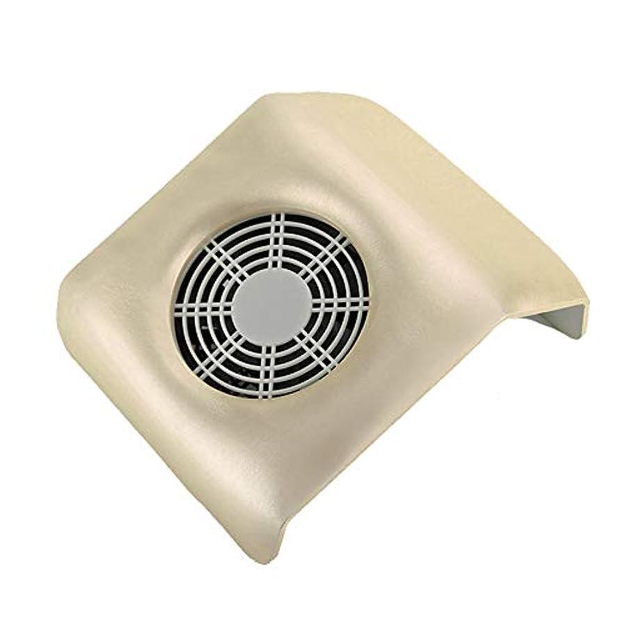 引用制約仮定するネイル 集塵機 ネイルアート掃除機 ネイルマシン ネイルダスト ダストクリーナー ネイル機器 集塵バッグ付き 金色
