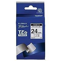 == まとめ == / ブラザー/BROTHER/ピータッチ/TZeテープ/ラミネートテープ / 24mm / 白/黒文字/TZE-251 / 1個 / - ×6セット -