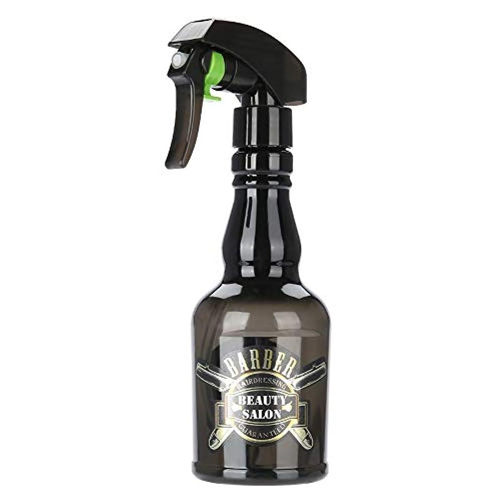 労働代替銀河理髪スプレーボトルサロン理容髪ツール水スプレーヤー2色(黒)