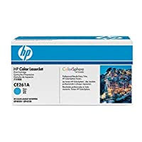 Hewlett Packard HP 648A Color LaserJet cp4025、cp4525シリーズスマートプリントカートリッジ、シアン( 11, 000Yield、部品番号ce261a